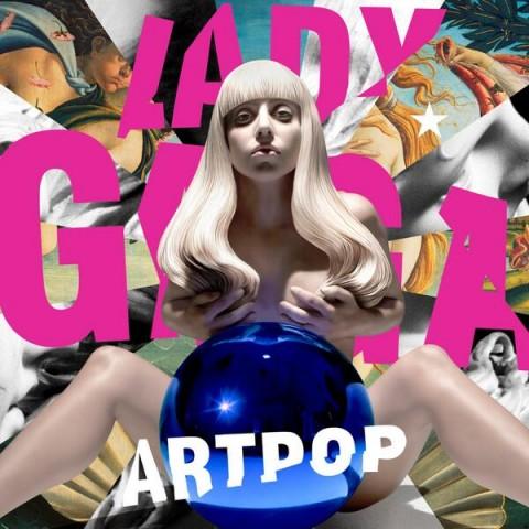 ARTPOP - Lady Gaga copertina artwork