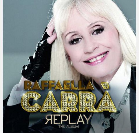 replay raffaella carra cd cover