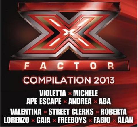 x-factor 7 compilatiom copertina album