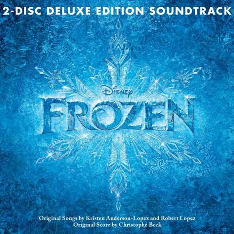 Frozen - Il regno di ghiaccio copertina album soundtrack