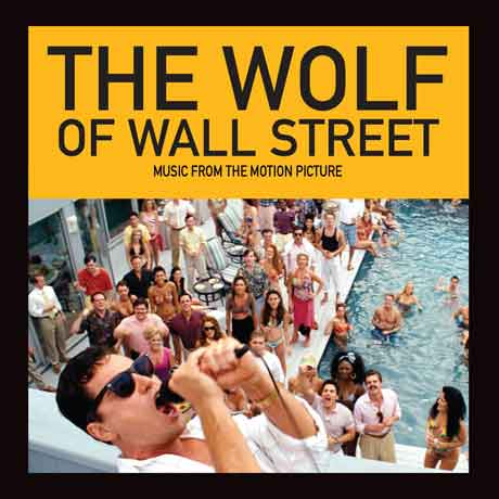 the wolf of wall street colonna sonora copertina