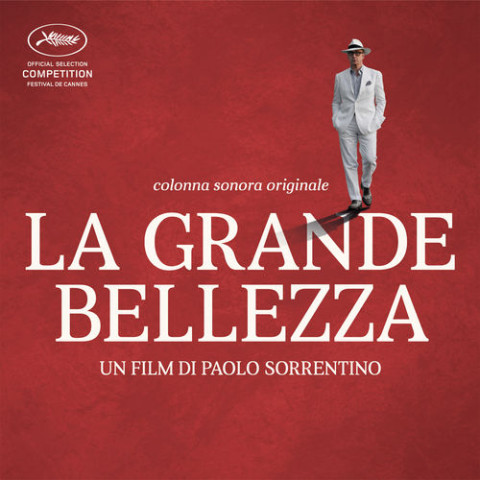 Copertina album soundtrack la grande bellezza