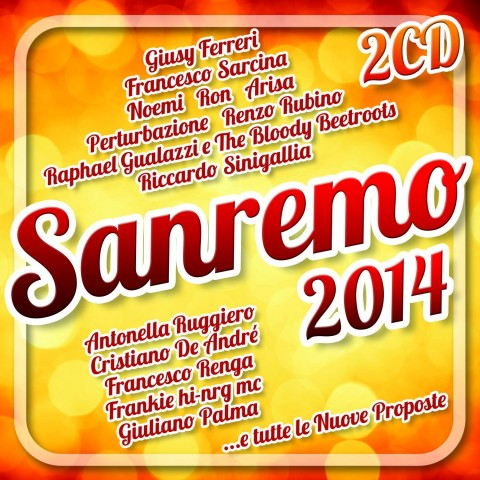 Sanremo 2014 compilation copertina cd