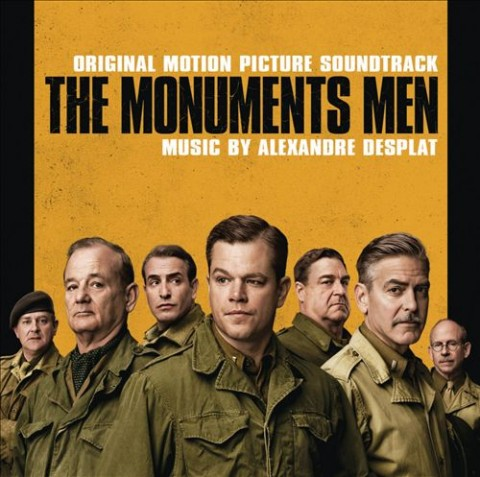 the monuments men colonna sonora