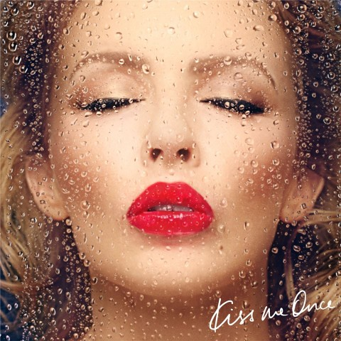 copertina disco Kylie Minogue kiss me once