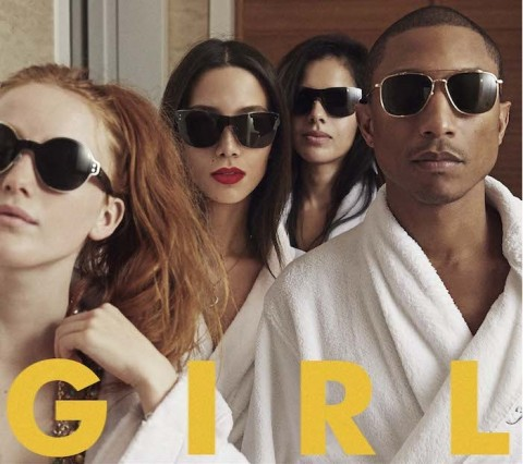 Pharrel Williams G I R L copertina disco