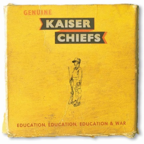 Education, Education, Education & War cover album