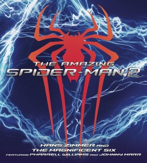 the amazing spider man 2 soundtrack album cover