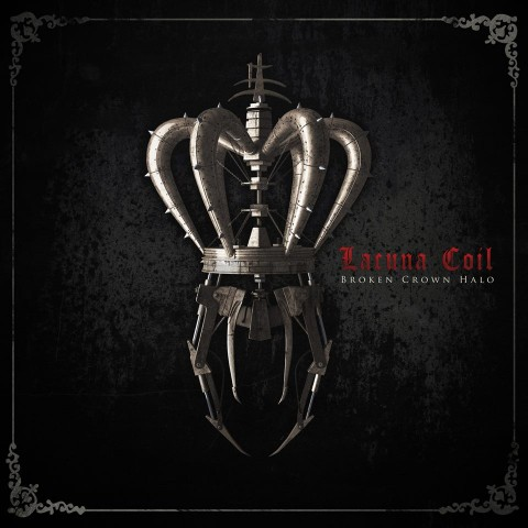 lacuna coil broken crown halo copertina disco