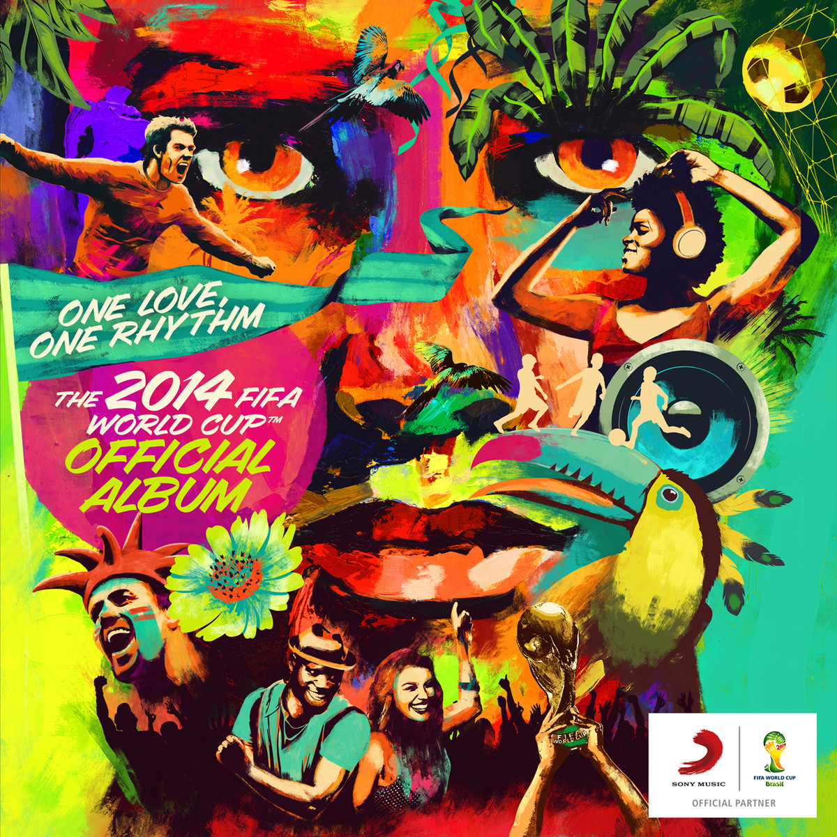 The 2014 Fifa World Cup Official Album One Love One