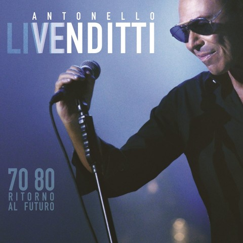 Antonello liVenditti 70 80 Ritorno al Futuro copertina disco