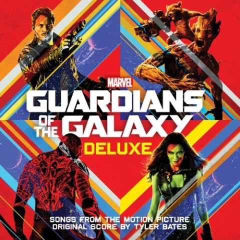 Hollywood Records Guardians Of The Galaxy Deluxe album Cover