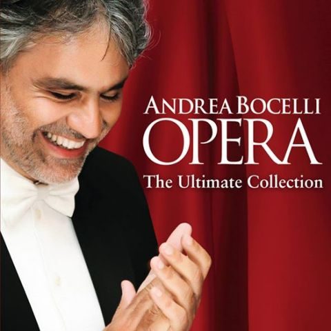 Opera: The Ultimate Collection by Andrea Bocelli album cover