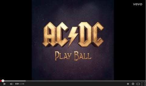 ac dc play ball
