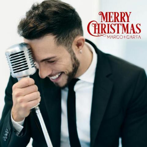 Marco Carta Merry Christmas Album Cover