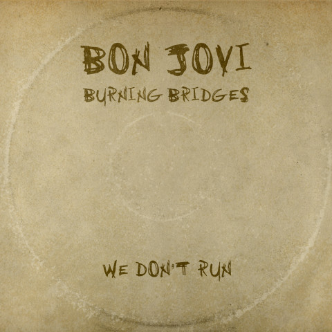 Burning Bridges Bon Jovi album cover