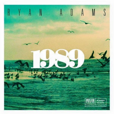 Ryan Adams 1989 album cover