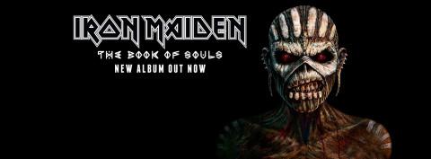 copertina disco The Book of Souls - Iron Maiden