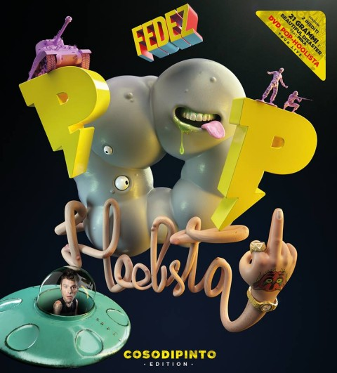fedez Pop-Hoolista CosoDipinto Edition album cover