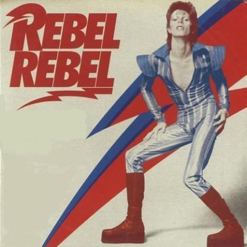 David Bowie Rebel Rebel