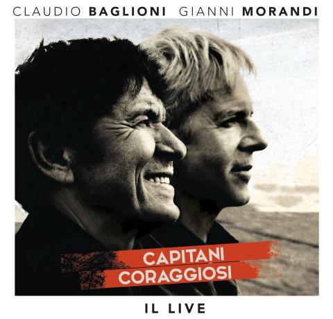 Capitani coraggiosi (Il Live) copertina disco