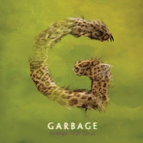 Garbage Strange Little Birds album cover