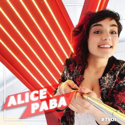 Alice Paba The Voice Italy 2016