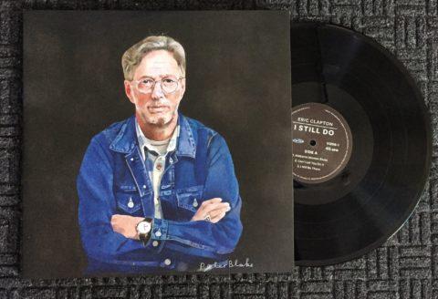 Eric Clapton I Still Do album cover artwork