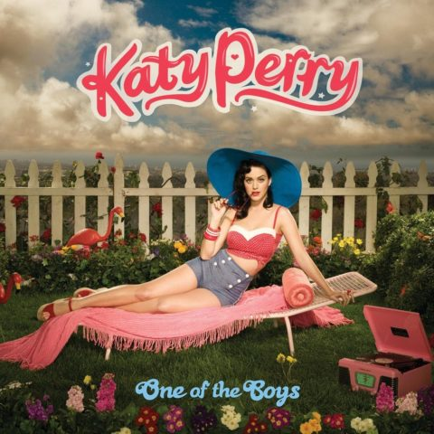 Katy Perry One of the Boys album cover