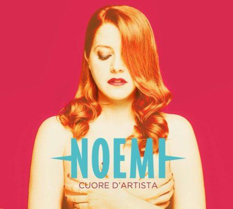 Noemi Cuore d'artista copertina disco 2016
