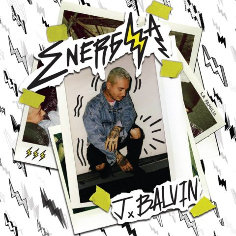 J Balvin Energia album cover
