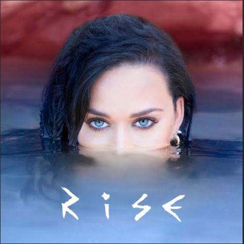 Katy Perry Rise artwork