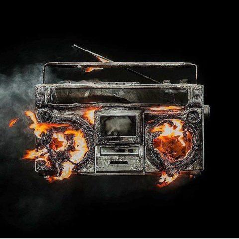 Green Day Revolution Radio album cover