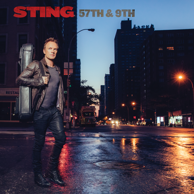 Sting 57th e 9th album cover artwork