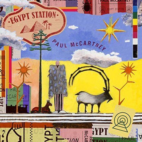 Paul McCartney Egypt Station album 2018 cover