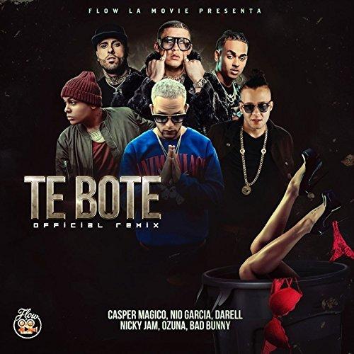 Te Boté Remix Casper Nio García Darell Nicky Jam Bad