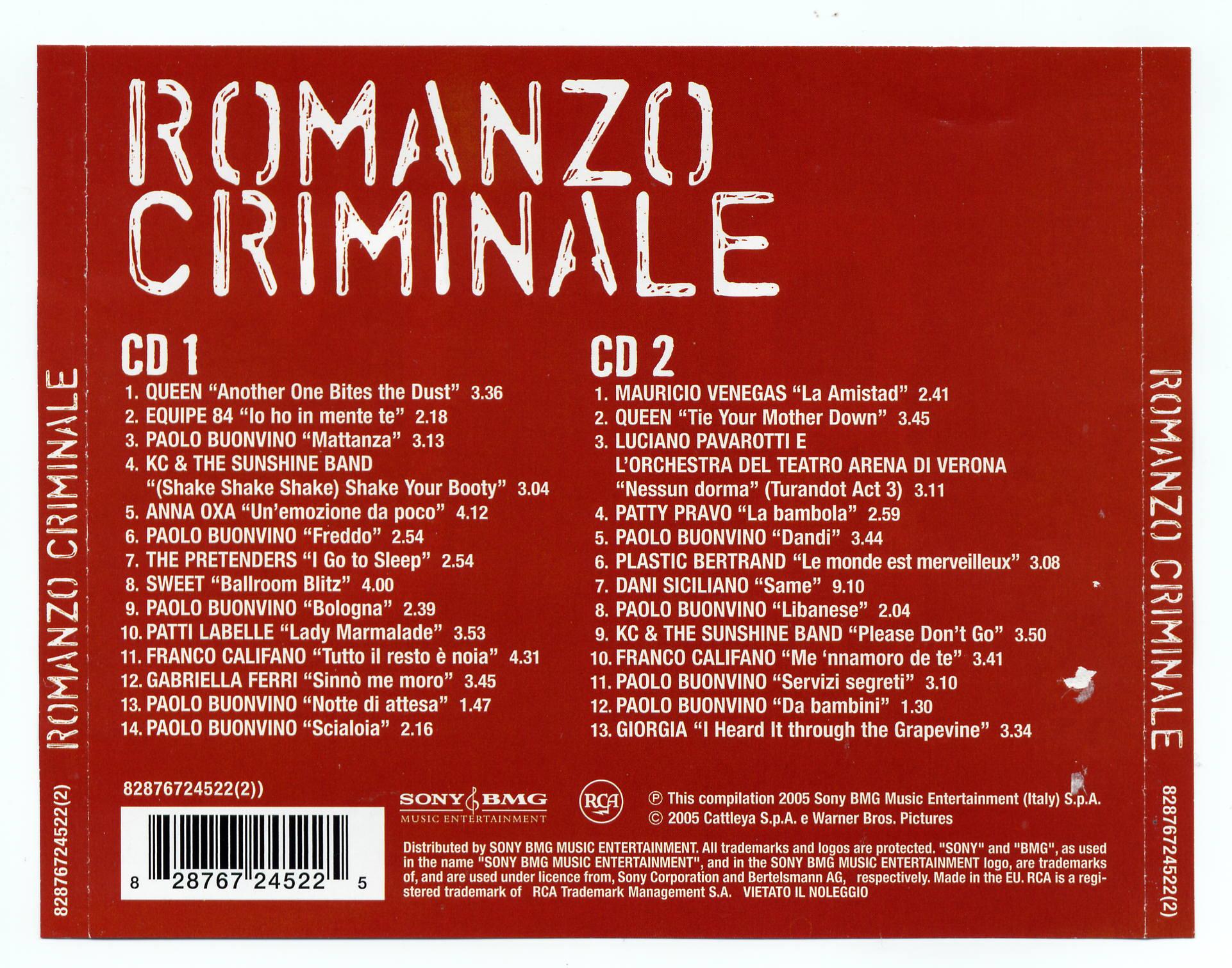 Romanzo criminale la serie colonna sonora spotify playlist.