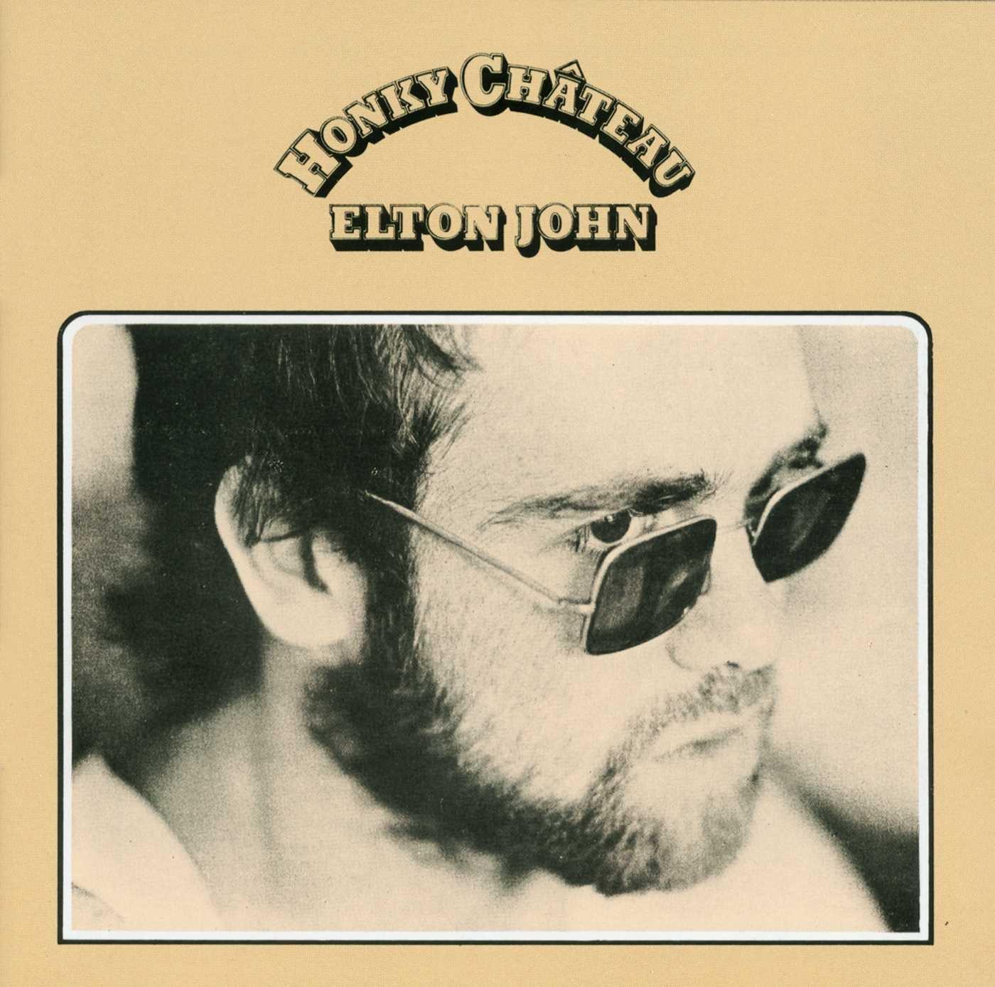 Honky Chateau Elton John album cover