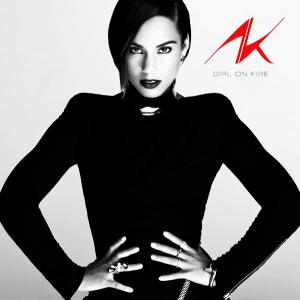 Alicia Keys Girl on fire copertina disco artwork