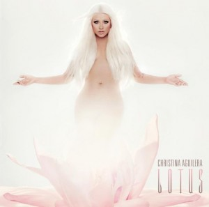 Christina Aguilera - Lotus copertina disco