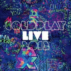 Coldplay Live 2012 copertina cd dvd artwork