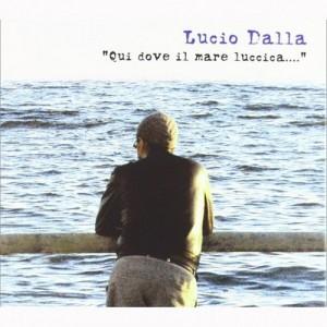 Lucio Dalla Qui dove il mare luccica raccolta copertina disco artwork