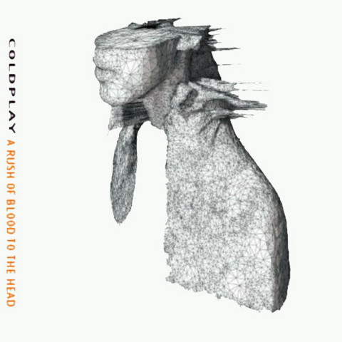 Coldplay A Rush of Blood to the Head copertina disco artwork