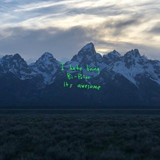 Kanye West Ye 2018 Album cover artwork