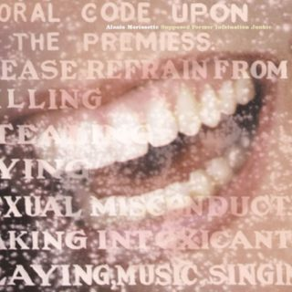 Alanis Morissette Supposed Former Infatuation Junkie cover