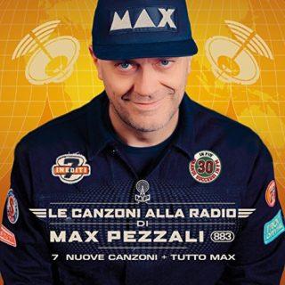 Max Pezzali Le canzoni alla radio album 2017 cover