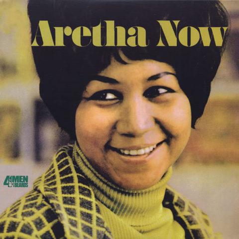 Aretha Franklin Aretha Now album cover