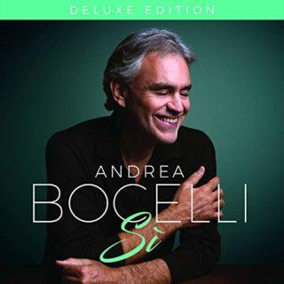 Andrea Bocelli Sì album 2018 cover