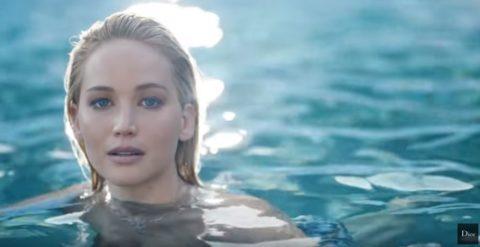 pubblicità Joy by Dior con Jennifer Lawrence