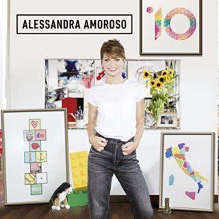 Alessandra Amoroso 10 album 2018 copertina
